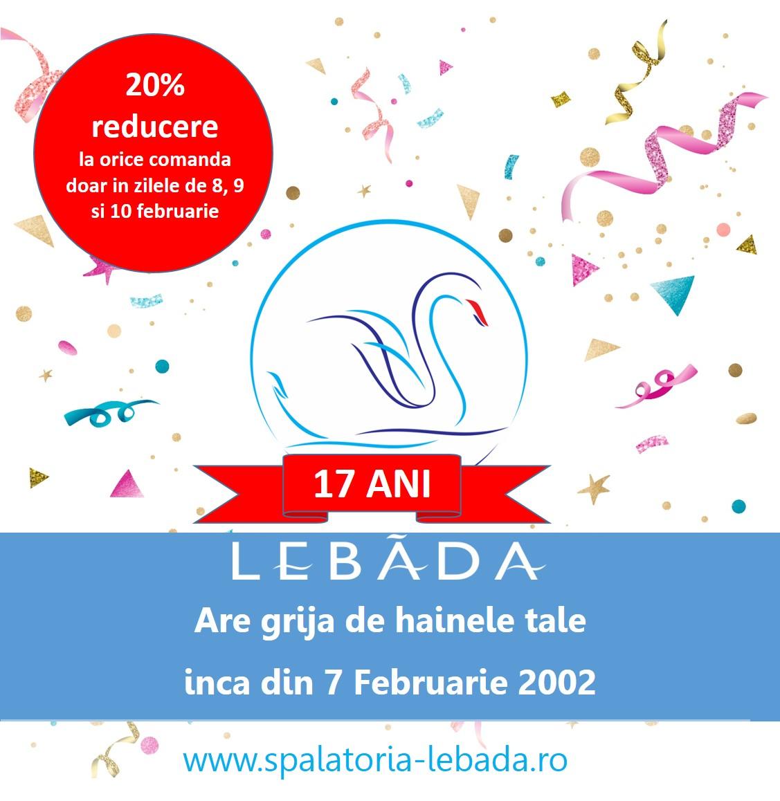 LEBADA 17 ANI